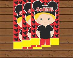 R�tulo Para Tubete - Mickey