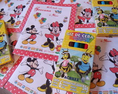 Revistinha para colorir - Minnie