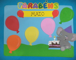 ANIVERSARIANTES DO M�S