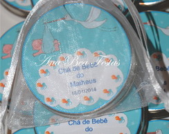 Latinha Mint To Be Ch� de Beb�