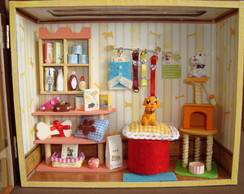Cen�rio Miniatura Pet Shop