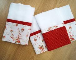 Kit Floral Vermelho