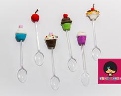 Mini colheres gourmet Cupcakes