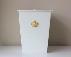 Lixeirinha Coroa Dourada