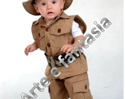 Fantasia Infantil Safari Mickey 3