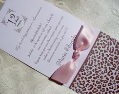 Convite Personalizado Princesa Cinderela