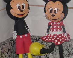 Fofucho Mickey e Minie