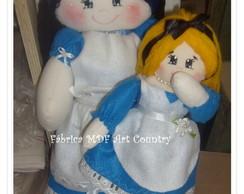 Boneca Alice morena