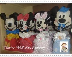 Centro de mesa Mickey e Minnie