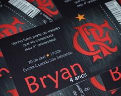 Convite Anivers�rio Flamengo