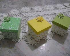 caixas tecidos