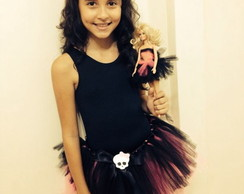 Fantasia Monster High GRATIS tutu barbie