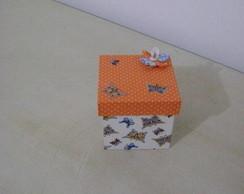 caixa em tecido