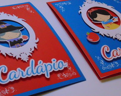 Card�pio Branca de Neve Pop-up