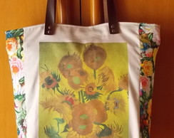Bolsa Girass�is de Van Gogh