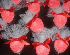 Cora��o mini sabonetes