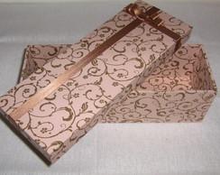 caixa em mdf revestida com tecido