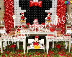 Decora��o Proven�al Minnie Vermelha TOP
