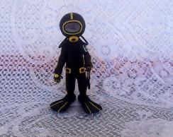 Boneco Mergulhador, personalizado!