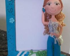 Porta retrato Boneca Magrela biscuit