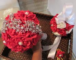 Kit Bouquet Di Capri vermelho I