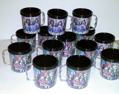 Caneca Acr�lica MONSTER HIGH ESGOTADO