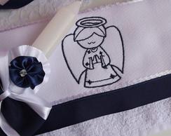 Kit Batizado- Anjo Azul Marinho