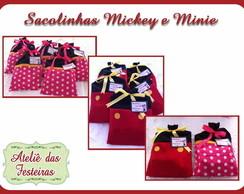 Bolsinha Mickey e Minnie