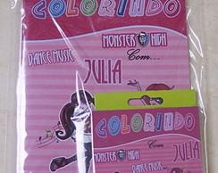 Kit de Colorir Monster High