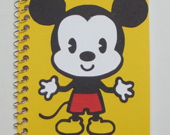 Caderninho Mickey