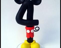Vela Mickey 13cm By Liliartes