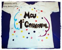 Camiseta baby e infantil Carnaval