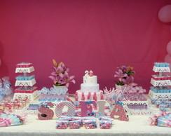Festa azul e rosa Peppa Pig