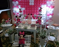Decora��o da Minnie Rosa