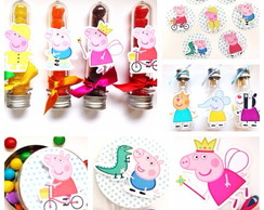 Kit Festa Peppa Pig - 170 itens