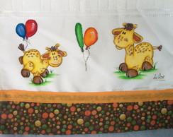Toalha De Lavabo Girafinhas