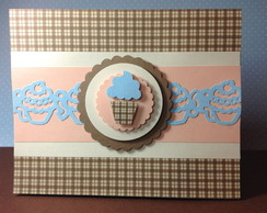 Convite Cupcake