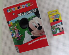 revistinha de colorir do mickey