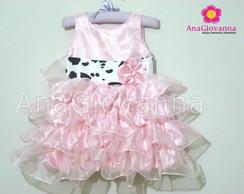 Vestido Fazendinha Princesa
