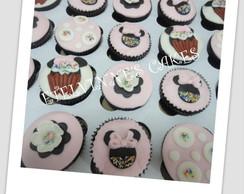 Cupcake Minnie Rosa