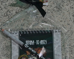Kit Anota��es Com Bloco 10x10cm