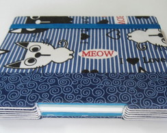 Caderno Artesanal Gatos