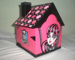 Casinha MDF Monster High - Draculaura