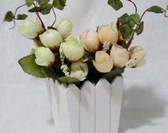 Balde Cerquinha com Flores