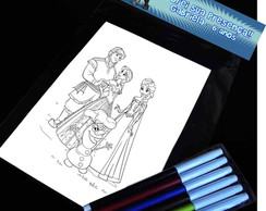 Frozen Disney Kit Para Colorir