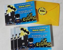 Convite com Envelope( qualquer tema)