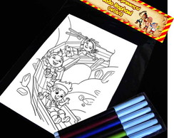 Jake E Os Piratas Kit Para Colorir