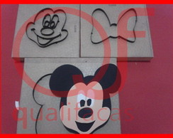 Faca de Corte Aplique Minnie ou Mickey