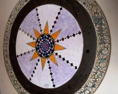Mandala Quadro Tela Pintura - 100 Cm