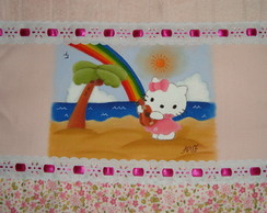 Hello Kitty na praia